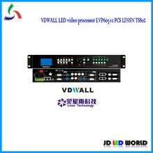 VDWALL LVP605 RGB full color HD led video processor with linsn led display screen sending card TS802(TS801)