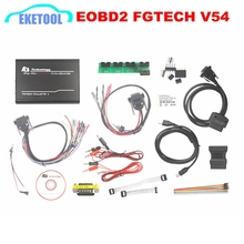 Express Fast Unlock Version FGTECH V54 ECOBD High Speed Master FG Tech Galletto 4 OBD2 K-CAN Supports BDM Function ECU Chip Tool