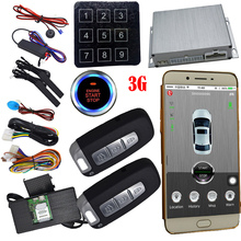 gps car alarm smart phone app auto ignition system keyless entry central lock or unlock car door passwords emergency disarm