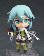 hot anime Cute Nendoroid Sword Art Online II Asada shino  model toys collection gift box packaging