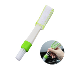 New Cleaning Brush Cleaner Multifunctional Car Air Condictioner Outlet Window Shade Blinds Rag Dust Remover Interior Car Brushes