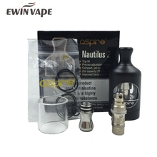 Aspire Nautilus 2 Tank Fit with Nautilus BVC Coil 0.7ohm 1.8ohm 23W bottom air flow Aspire Nautilus2 Atomizer VS melo 3