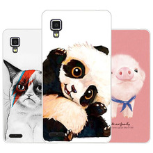 Buy lenovo p780 Case,Silicon panda cartoon Painting Soft TPU Back Cover lenovo p780 protect Phone cases for $1.49 in AliExpress store