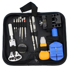 13Pcs/Set Watch Repair Tool Kit Watch DIY Kit Screwdrivers Case Opener Tweezer Band Link Remover Watchmaker Dedicated Device(China)
