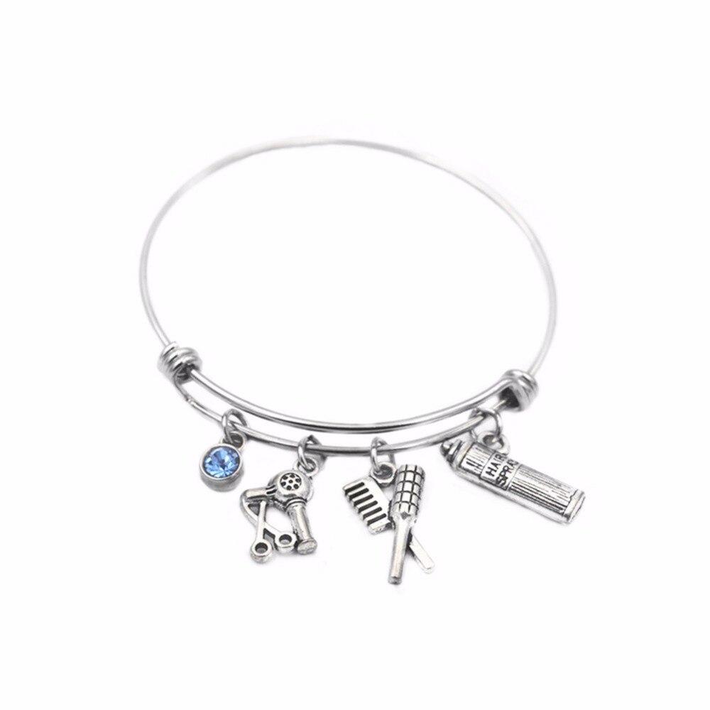 hair charms bracelets