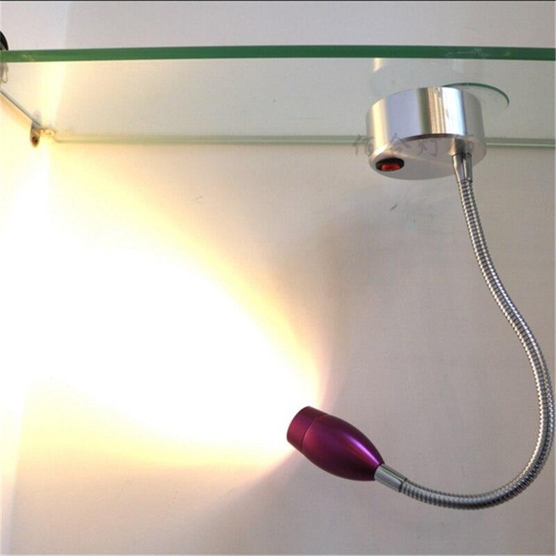 3 years warranty 1W/3W AAA battery purple led spot lamp ,wireless display flexible tube spot lamp,360degree rotary wedding light<br><br>Aliexpress