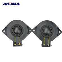 AIYIMA 2Pcs 1.5Inch Audio Portable Speakers 4Ohm 20W Mini Silk Film Tweeters Fever Small Car Tweeter(China)