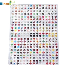 Drop shipping 330pcs Cartoon Rubber Home Button Sticker for iPhone 4 4s 5G ipad 2 3 Sep 22