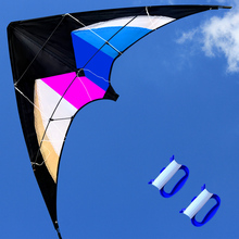 Outdoor Fun Sports  2017 NEW  47 Inch  Dual Line Stunt  Kites  /  Kite  With Handle And Line Good Flying