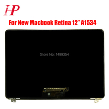 Genuine New Early 2015 MF855 MF865 A1534 LCD LED Screen For New Macbook 12''A1534 LCD Screen Assembly Silver / Gold / Gray(China)