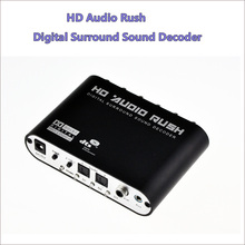 SPDIF/Coaxial Digital DTS/AC3 5.1/2.1CH to Analog Audio Decoder Converter for  ps3/XBOX360 / HD players
