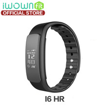 Buy IWOWN I6 HR smartband Passometer Heart Rate Monitor Sport Wristband Bluetooth 4.0 Smart Band Fitness Tracker IOS Android for $18.72 in AliExpress store