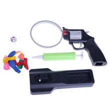 Russian Roulette Model Balloon Gun Pistol Bang Party Game Fun Tricky Toy Gift