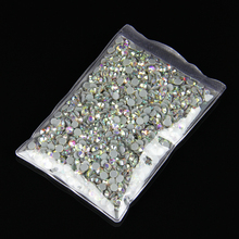 20bags/lot AB color Crystal Hot Fix Rhinestones SS20 DMC Hotfix Rhinestones Iron On Rhinestones garment sewing stones