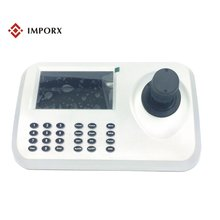support 5.0'' HD LED and ONVIF IP Camera 3D Joystick HD Network PTZ Keyboard Controller for CCTV Speed Dome PTZ Camera
