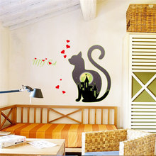 Christmas Deer Removable Wall Sticker Art Home Decor Decal Aug31 Professional Factory price Drop Shipping(China)