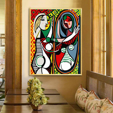 40*50CM Cuadros decoracion wall art decor Picasso toiletry pictures for living room on canvas oil painting by numbers YAX52