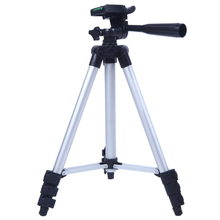 3110A Pro Camera Tripod Stand 4-Section Lightweight Portable Aluminum Mini Tripods for Canon Nikon Sony with Three-way Ball Head