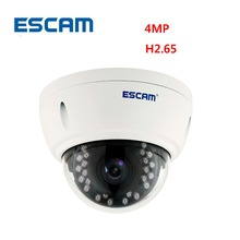 Buy Escam QD420 Dome IP Camera H.265 4MP 1520P Onvif P2P IR Outdoor Surveillance Night Vision Security CCTV Camera for $156.00 in AliExpress store