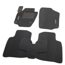 5pcs High Quality Odorless Auto Carpet Mats Perfect Fitted For Skoda Rapid