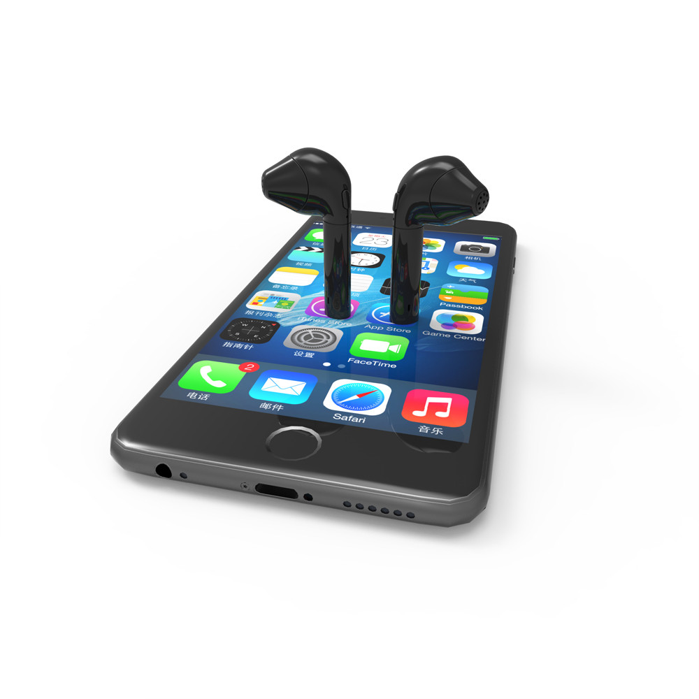 1pc Mini HBQ I8 True Wireless Bluetooth V4.1 In-ear Earphone Outdoor Sports Wireless Headset For Mobile Phones #ES<br>