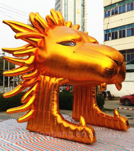 Free shipping 5m high giant inflatable lion for event decoration