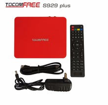 HOT Receiver az america tocomfree s929 plus with iks sks iptv free for South America Brail Chile