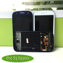 100% Tested AAA+ For Samsung Galaxy S3 i9300 Highscreen LCD Display Touch Screen Digitizer Assembly Replacement(China)