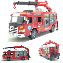 1:50 scale alloy Engineering vehicles,Alloy model car Fire truck,Boxed gift,Rescue rescue city fire engines,free shipping