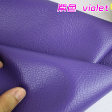 "Violet Big Lychee Pattern PU Synthetic Leather Faux Leather Fabric Upholstery Car Interior Sofa Cover  54"" Wide Per yard"