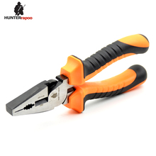 20% OFF Free Shipping: 1 PACK 200mm Length European Type Combination Cutter, Professional 8.0 inch Bent Handle Combination Plier(China)