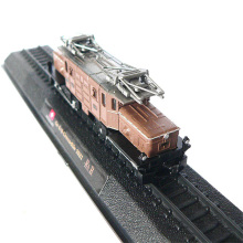 hot 1:160 Scale Mini Model Train Ge66Crocodile Switzerland metal train Models Cars Toys Cars And Locomotives toys gift for kids