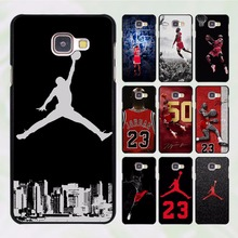 Hot sale forever michael jordan design hard black Case for Samsung Galaxy A9 A8 A7 A7 2016 A7 2017 A5 A5 2016 A5 2017 A3 A3 2016