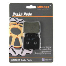 SOMMET Motorcycle Rear Brake Pads Disks 1 pair for Suzuki LT 250 R (87-92) RH/RJ/RK/RL/RM/RN LT250R LT250 R LT137(China)