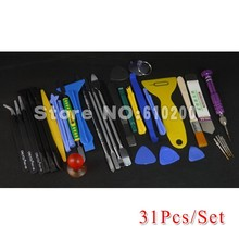 34 in 1 Phone Opening Repair Tools Screwdrivers Set Kit ESD Tweezers For iPhone samsung HTC Nokia laptop tablet open tools(China)