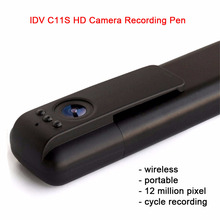 IDV C11S Wireless Wifi Portable mini Camera 1080P HD Video Micro Camcorder Recording Pen Remote Monitor IR Night Vision Camera(China)
