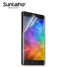 Buy Suntaiho Ultra-thin 3D Curved Full Cover Screen Protector Soft PET Xiaomi Mi Note 2 Protective Film (Not Tempered glass ) for $1.97 in AliExpress store