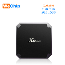 Newest Android 7.1.2 TV Box X96 mini 2G 16G TV Box Amlogic S905W Quad Core Penta-core Support Wireless Wifi Connect Set Top Box