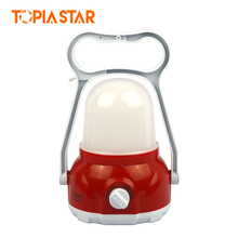 TOPIA STAR USB Rechargeable Camping Lantern Outdoor Power Bank Portable Tent Camping Light