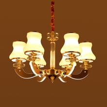 modern European Style led crystal arm Chandelier(China)