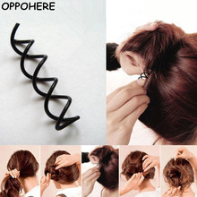 Cheap 10pcs Spiral Spin Screw Bobby Pin Hair Clips Lady Twist Barrette Accessory 2017 Hot Sale(China)