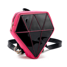 Fashion Small PU Leather Backpack Mini Bling Backpack Unique School Bags for Teenage Girl Women Backpack Mochila Schoolbags