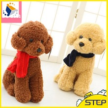Free Shipping33 CM Teddy Bear Plush Toy Cute Scarf Bear Stuffed Animal Toys Baby Toys Birthday Gifts Valentine's Day Gifts ST303(China)
