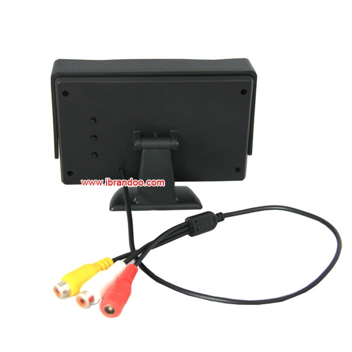 Vehicle 2CH SD card Car DVR +2pcs side view car camera+1pcs 4.3inch monitor