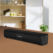 XGODY BT-818 Soundbar Bluetooth Speaker Home Theater Audio Receiver Stereo Subwoofer Altavoz Portable Column for TV PC Phone(China)