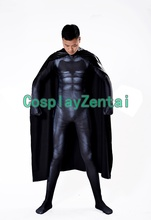 2017 New Batman Costume 3D Print Superhero Cosplay Costume with cape