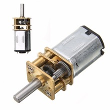 New Arrival DC 6V 200RPM Mini Metal Gear Motor with Gearwheel Model:N20 3mm Shaft Diameter For Power Tool(China)