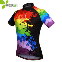 Buy WOSAWE Men's Summer Cycling Jersey Shirt Quick Dry Breathable Short Sleeve bicycle Bike Clothing sports ciclismo male jerseys for $16.99 in AliExpress store