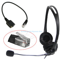 Headset Cable 2 X 3.5mm to RJ9 Jack Adapter Convertor PC Headset Telephone Using High Quality(China)