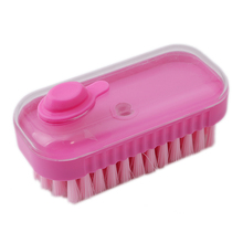 Scrubbing Pots Carpet Cleaning Hand Brush For Shoes Clothes Brochas Bathroom Brush Can Be Equipped With Laundry Detergent(China)
